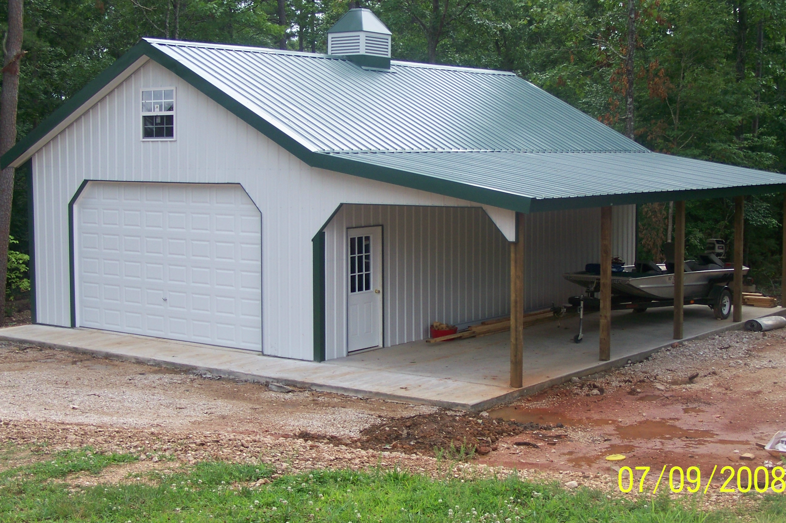 Dan ini quick framer storage shed kits for Pole building homes